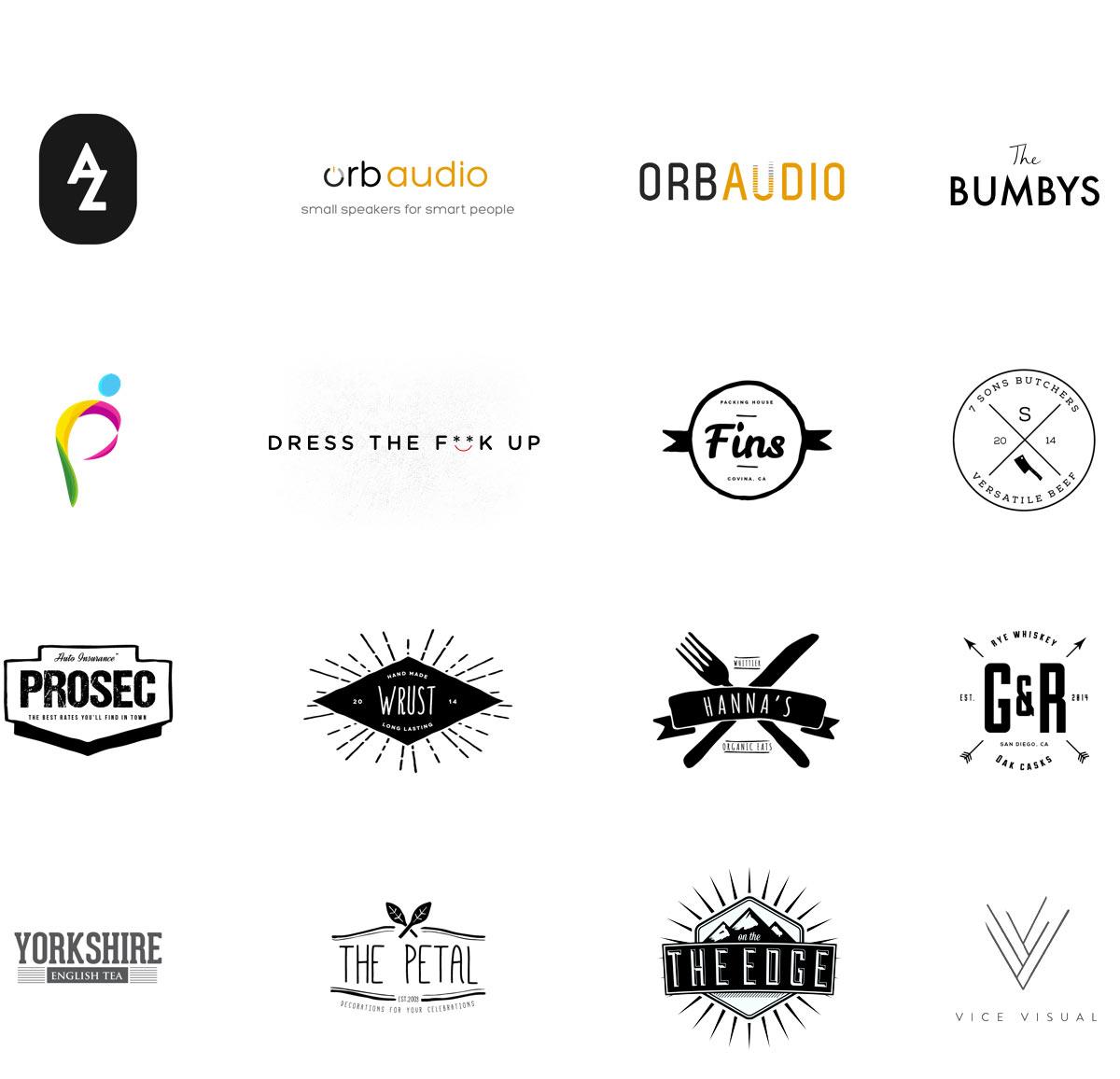 Portfolio Logo Layout
